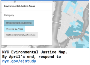 Environmental Justice Areas--Lower East side